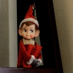 My Original Elf on the Shelf, a gift years ago from my Aunt.