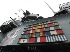 Ships service ribbons and awards