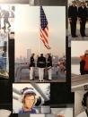 9-11 memorial photo on the USS Iowa, taken from her decks.