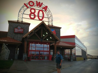 The worlds largest truck stop